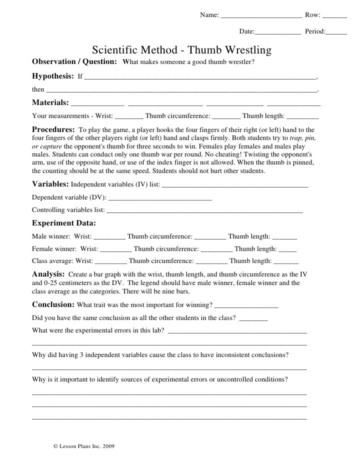 Printables Science And The Scientific Method Worksheet Answer Key simpson scientific method worksheet davezan and the answer key identifying variables davezan