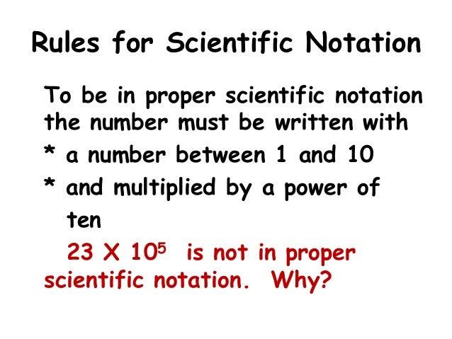 Free Worksheets worksheet scientific notation : Scientific notation ppt