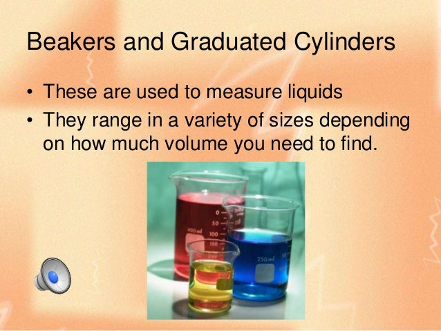 Volume Measuring Instruments : Scientific tools measuring volume