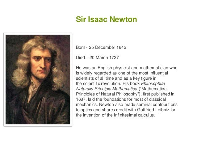 Biography essays on isaac newton