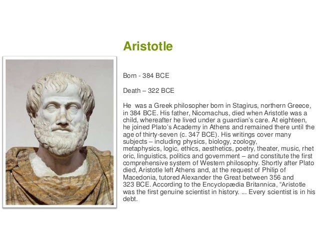 an examination of platos and aristotles view of the world Aristotle certainly thinks that plato was wrong to  public users are able to search the site and view the abstracts  aristotle's philosophy of mathematics.