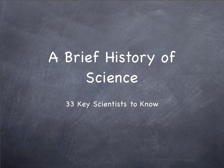 Scientists Module 1