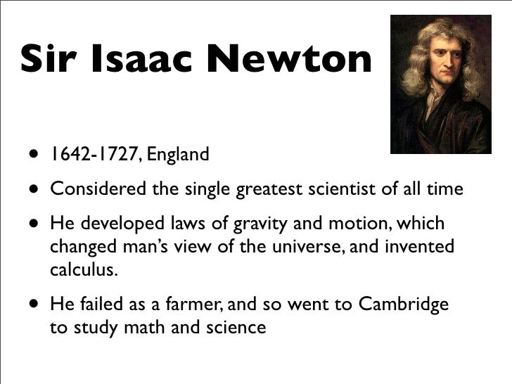the life and times of sir isaac newton