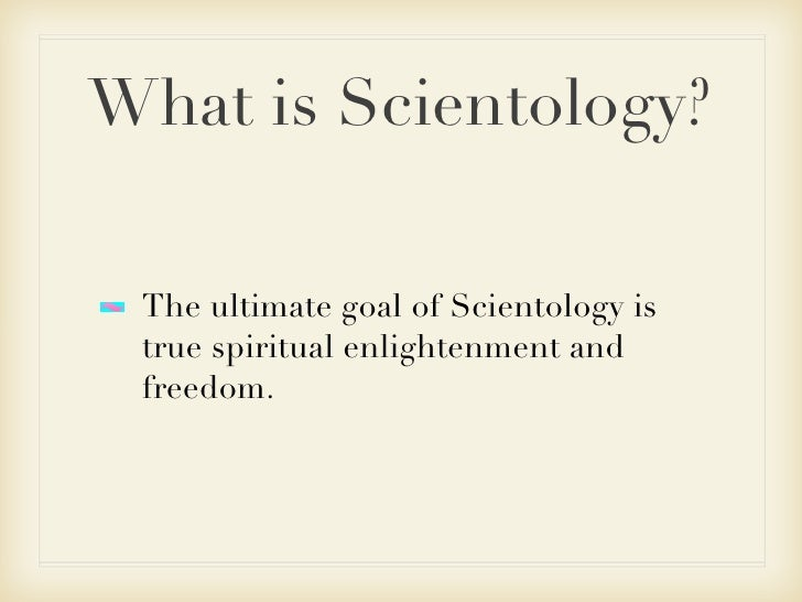 What is Scientology ???????