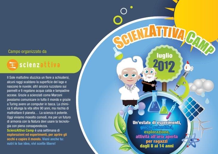 ScienzAttiva camp 2012