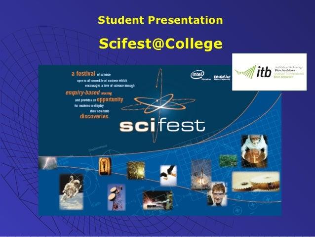 Scifest@ITB - Presentation