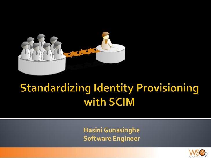 Standardizing Identity Provisioning with SCIM
