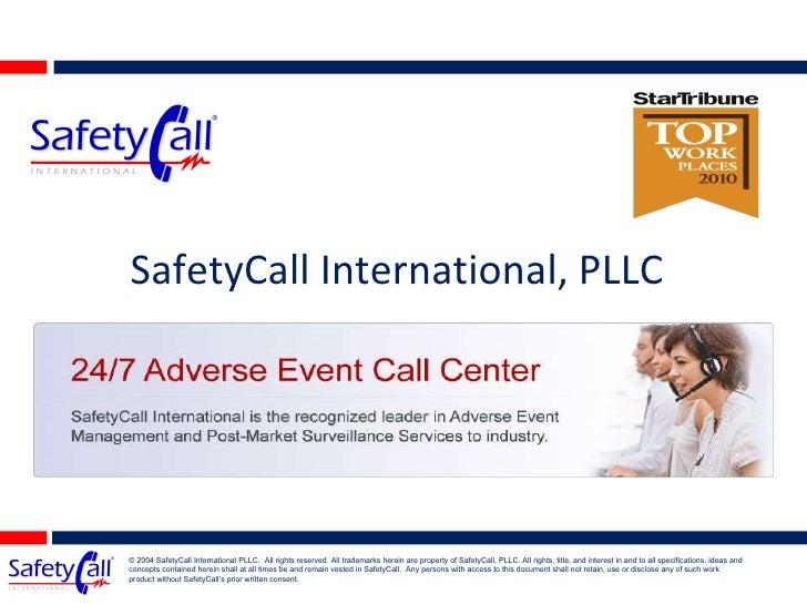SafetyCall International
