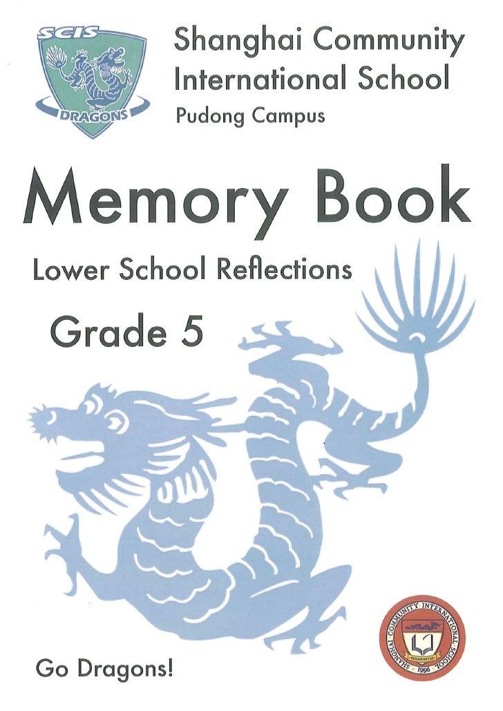 SCIS G5 Memory Book 2009