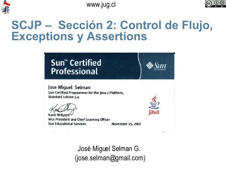 Scjp Jug Section 2 Flow Control