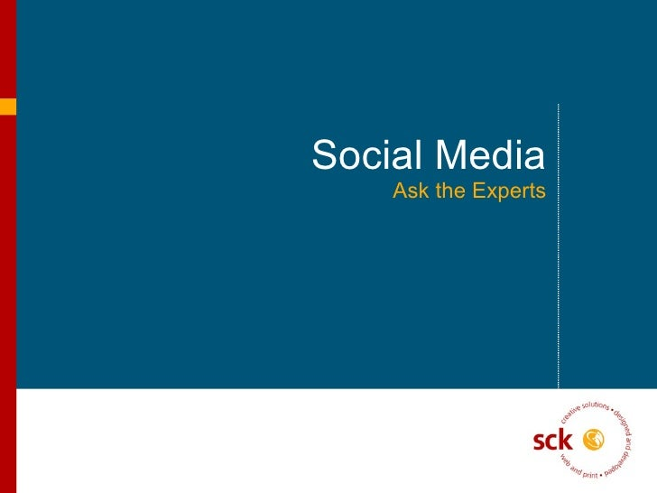 SCK Social Media 2009