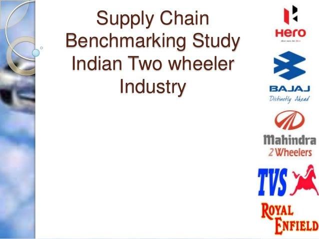 Supply Chain Benchmarking Study