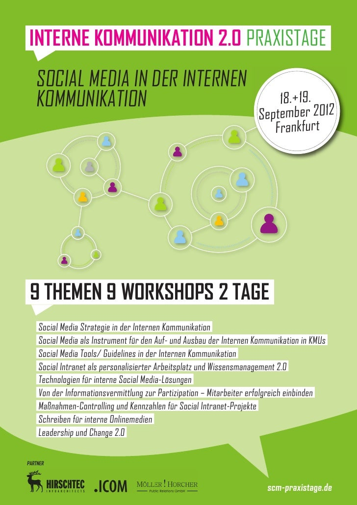 INTERNE KOMMUNIKATION 2.0 PRAXISTAGE   SOCIAL MEDIA IN DER INTERNEN   KOMMUNIKATION                                       ...