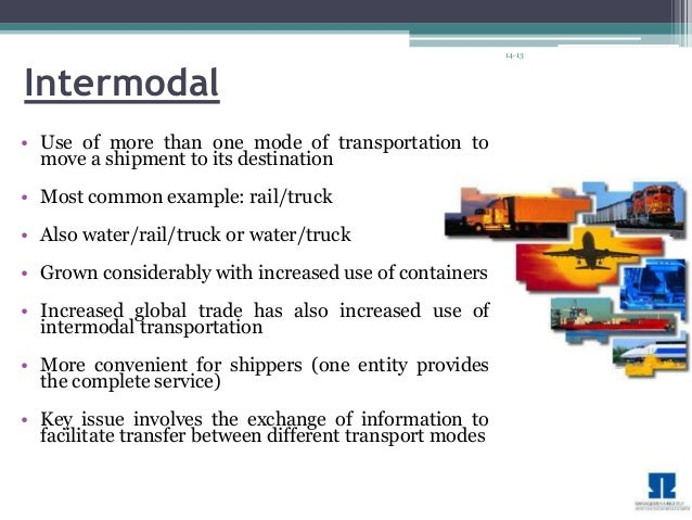 various methods of transportation in the supply chain essay Global supply chain management business essay identifying various points throughout the supply chain where goods can be are working on methods.