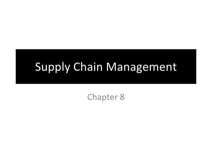 Enterprise Systems: SCM, CRM, & ERP