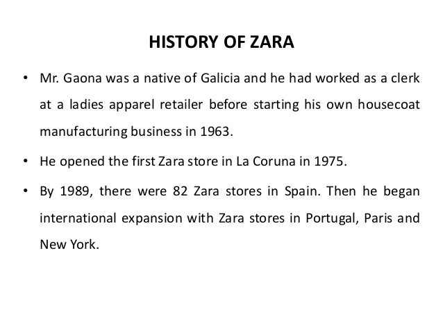 management and zara Zara's spend culture thus has a bearing not only on its monetary success but also on its culture — which is to say the work ethic and philosophy of its work force, an area which is neglected by companies that restrict their focus to revenue alone.