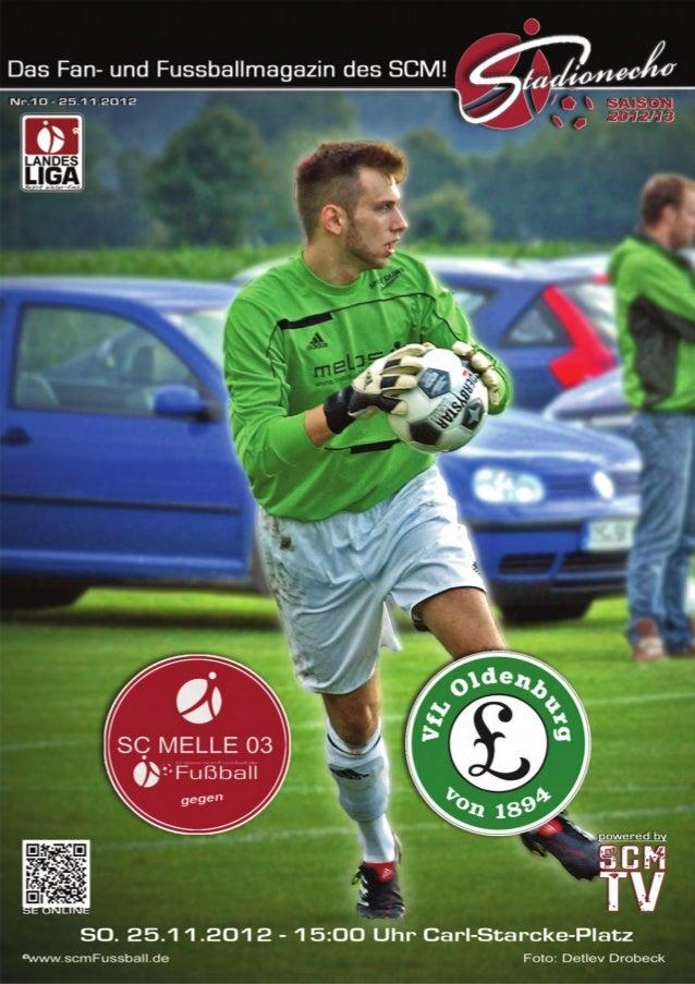 Stadionecho - Das Fussballmagazin des SC MELLE 03                                      magazin          Liebe Besucherinne...