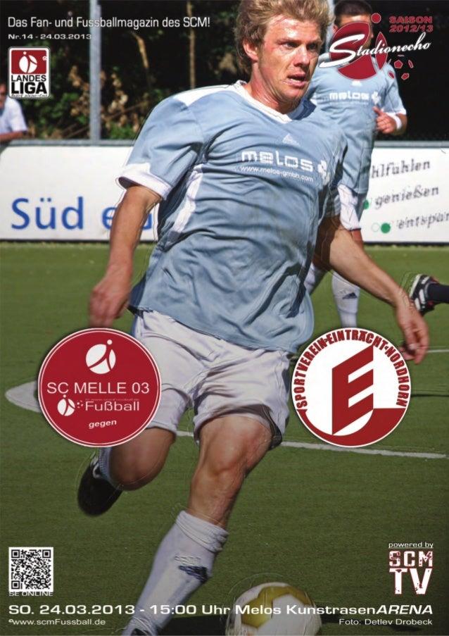 Ausgabe 14 –März 2013StadionEcho online          scmFussball.de2