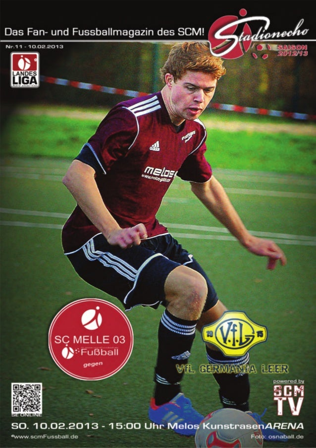 Ausgabe 11 –Februar 2013StadionEcho online             scmFussball.de2