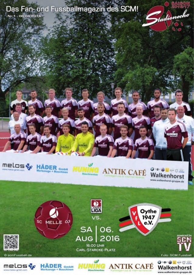 LANDESLIGA WESER‐EMS 2016 ‐ 2017 StadionEcho online scmFussball.de 2