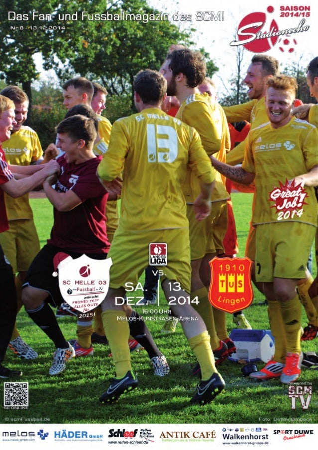 StadionEcho online scmFussball.de  2  Die leckeren Torten zum heutigen Spiel wurden wieder gestiftet vom: