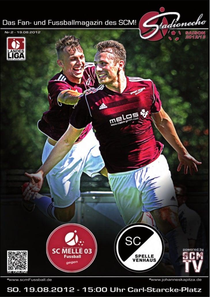 Ausgabe 2 / August 2012StadionEcho online        scmFussball.de2