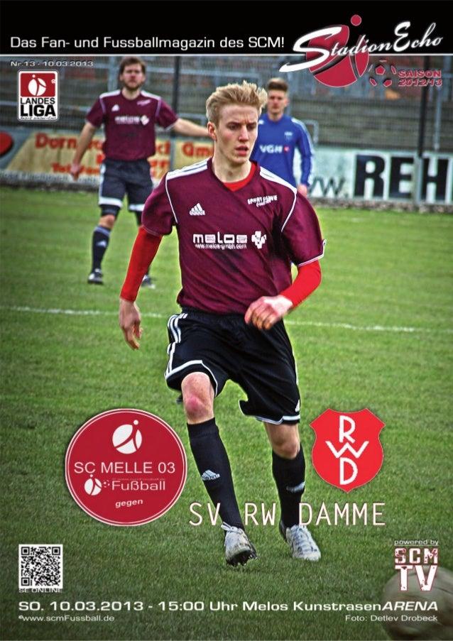 Ausgabe 13 – März 2013StadionEcho online           scmFussball.de2