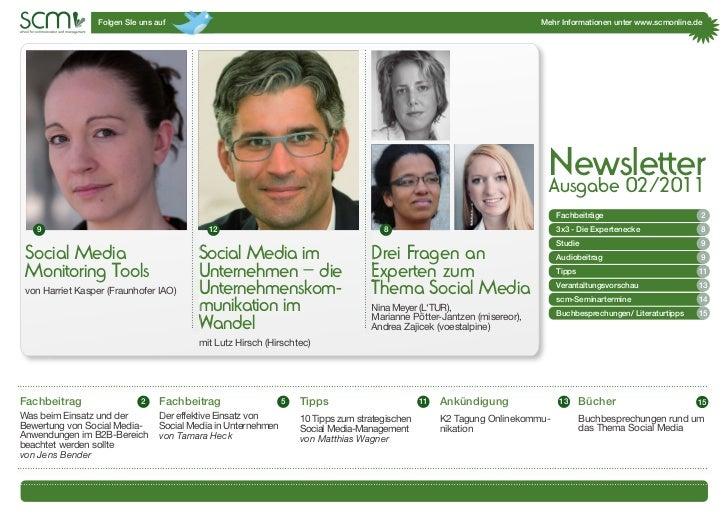 Scm newsletter 2_2011