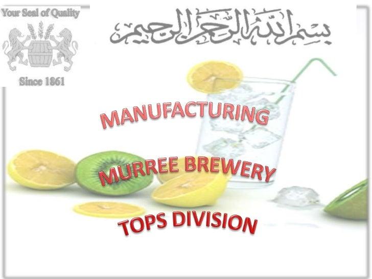 Murree Brewery Supply Chain