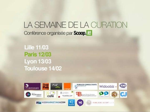 Semaine de la Curation / Paris - Slides - #SCMWdej