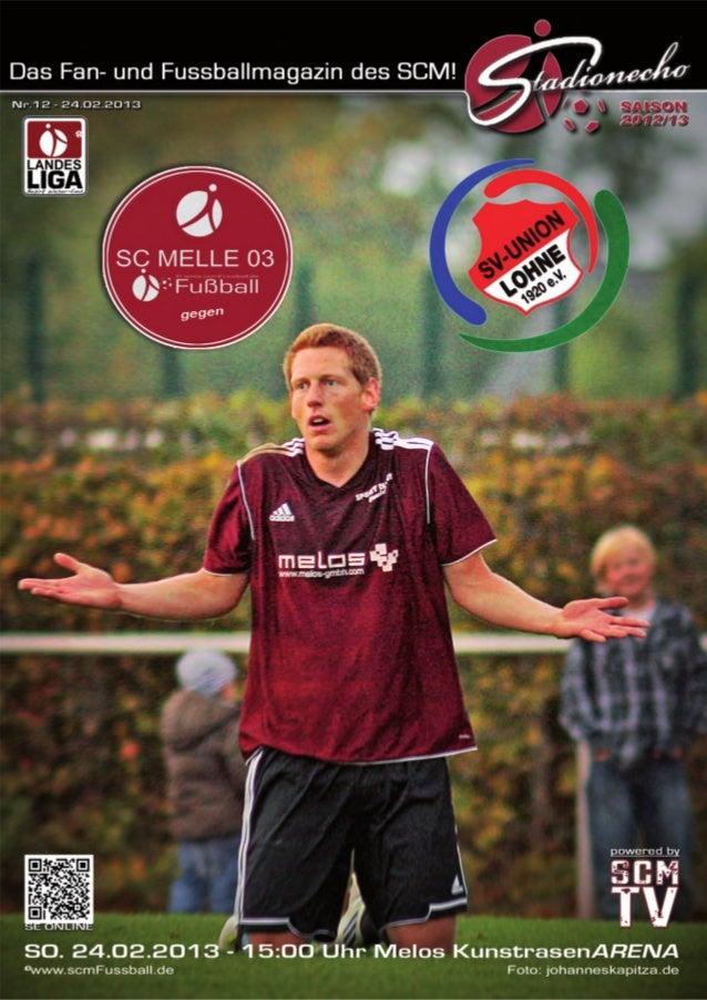 Ausgabe 12 – Februar 2013StadionEcho online              scmFussball.de2