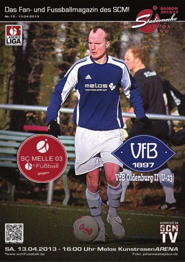 Ausgabe 15 –April 2013StadionEcho online scmFussball.de2