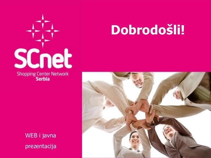 SCNet prezentacija