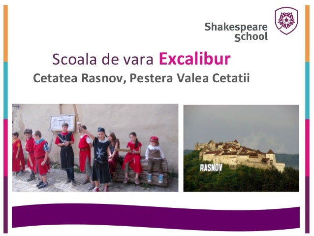 Scoala de vara ExcaliburCetatea Rasnov, Pestera Valea Cetatii