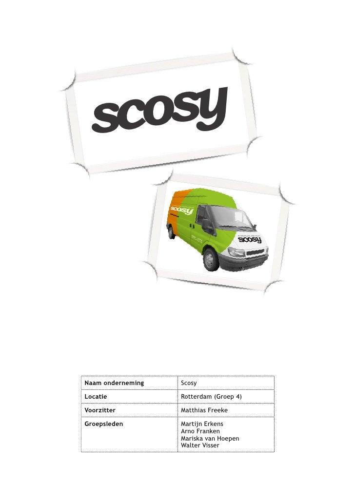 Scocsy,Rotterdam,Groep4,Freeke,Finaldoc