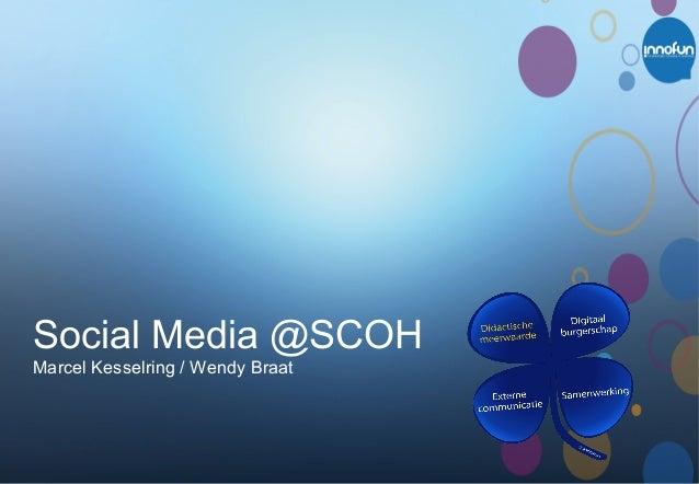 Sociale media op school (presentatie SCOH)