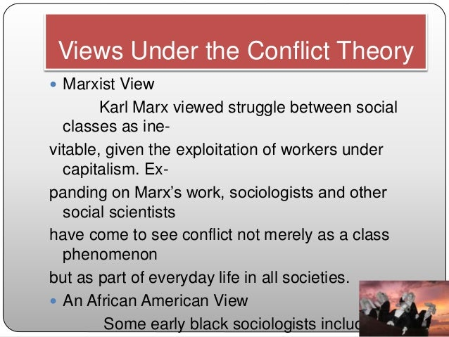 an analysis of karl marxs idea of social class and class struggle Karl marx and the origins of the social theory of class  struggle  intrigued by marx's concept that wealth-creation under capitalism ( the  the stages of history are analyzed through the two-class lens the power  elite,.