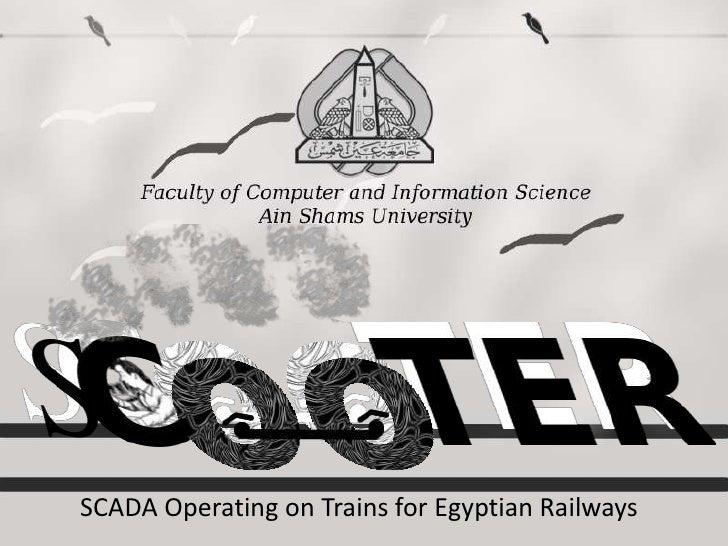 SCADA Operating on Trains for Egyptian Railways