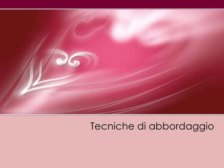 Tecnichediabbordaggio<br />
