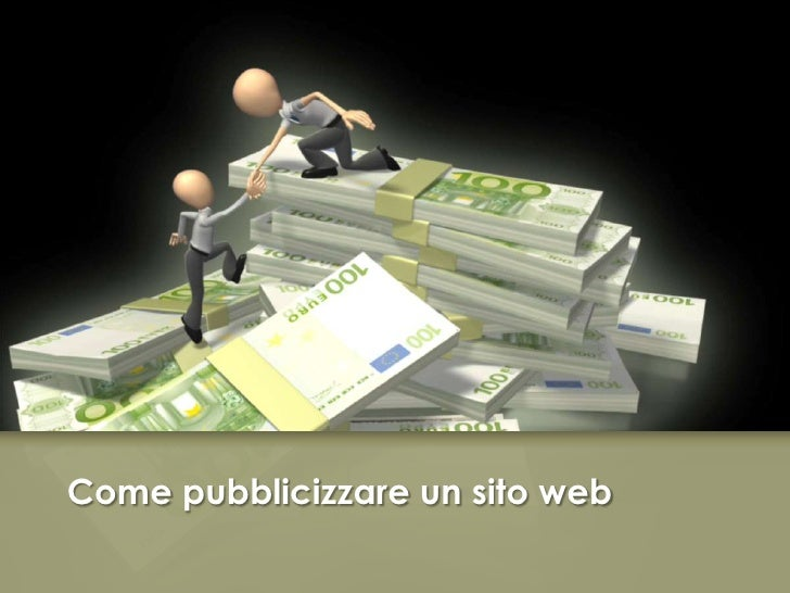 Come pubblicizzare un sito web<br />