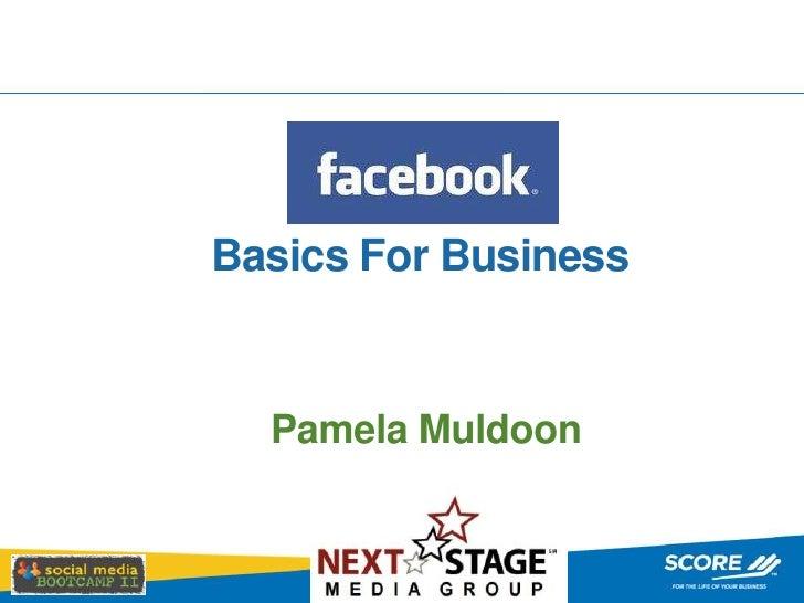 Facebook Basics for Business