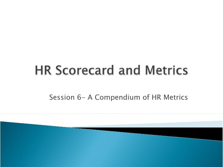 HR Scorecard 5