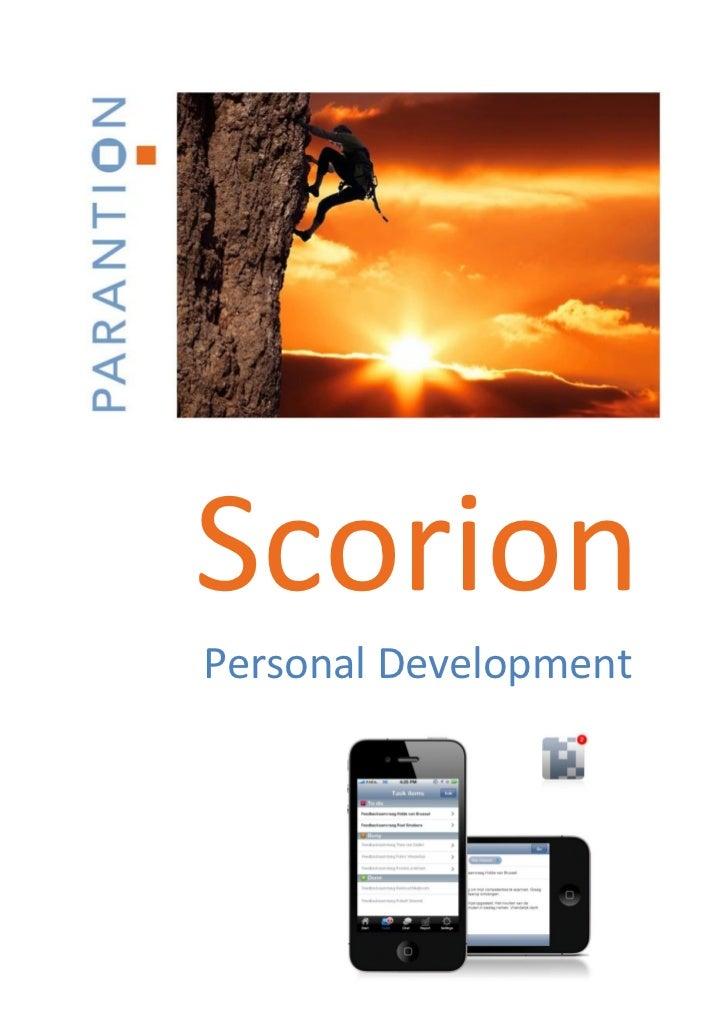 ScorionPersonal Development