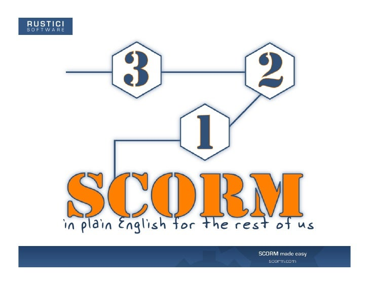 SCORM in Plain English