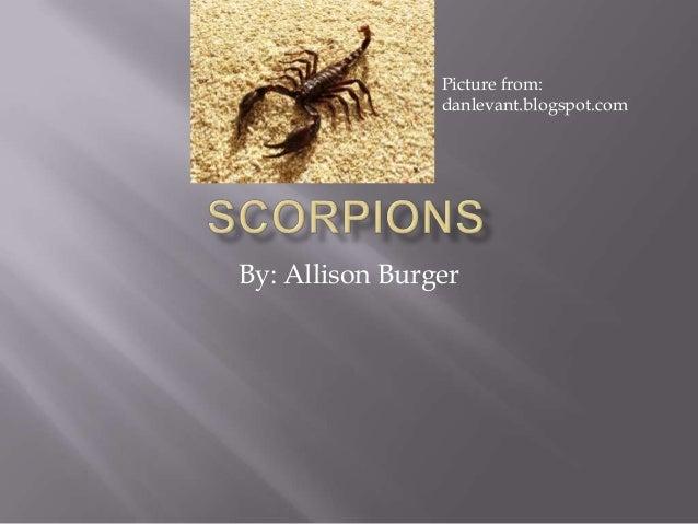 By: Allison BurgerPicture from:danlevant.blogspot.com