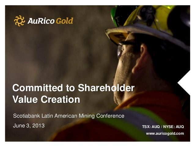 Scotiabank Latin American Mining Conference 2013
