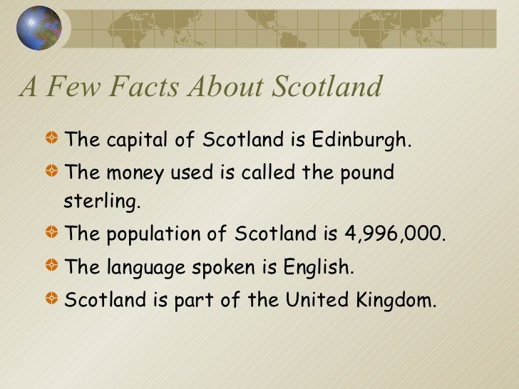 Interesting Facts About Edinburgh For Kids