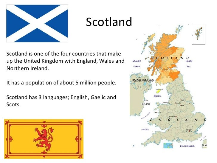 ScotlandScotland is one of the four countries that makeup the United Kingdom with England, Wales andNorthern Ireland.It ha...