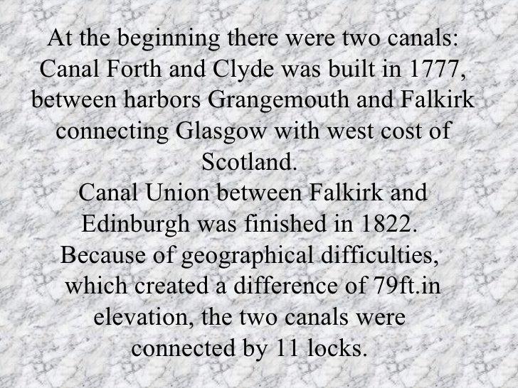 Scotland Canals