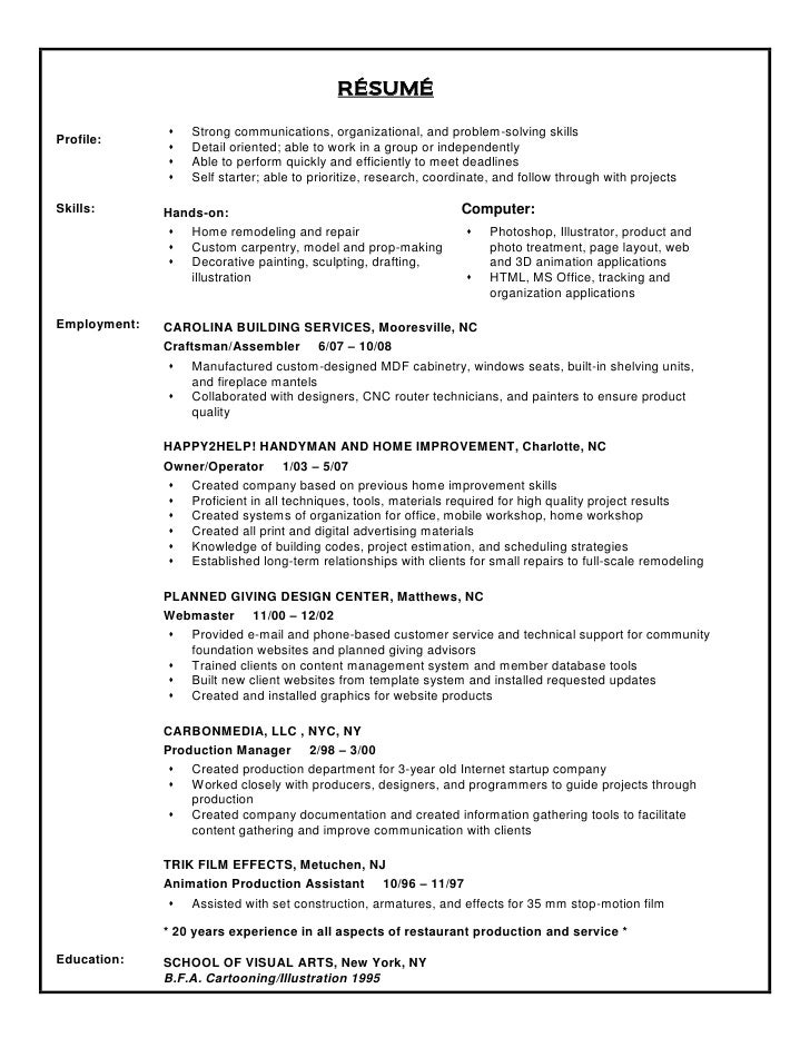 problem solving skills for resume